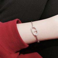 bracelets femmes de qualité achat en gros de-2019 New Top Quality Bangles Femmes pulsera Bangles Designer Bracelets avec bracelet de perçage Fit European Beads grossiste vente
