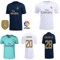 uniformes venda por atacado-Real madrid Jerseys 2019 2020 PERIGO Isco camisa de futebol SERGIO RAMOS MODRIC BALE camisa de futebol uniformes kit 19 20 camisetas maillot de pé