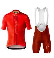mountain bikes jersey calças venda por atacado-Mavic ciclismo jersey set ciclo desgaste homens mountain bike mountain road mtb pro set ciclo de bicicleta roupas Maillot Esponja Calças 9D Pad