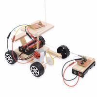 brinquedo de carro de controle sem fio venda por atacado-Venda Por Atacado controle remoto sem fio kit modelo de carro rc engraçado crianças educacionais brinquedo sem bateria
