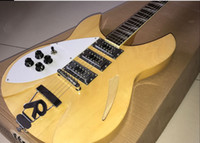 Wholesale quality left handed guitars resale online - high quality rickenback electric guitar Ricken pickups electric guitar Rick guitar left hand electric guitarra