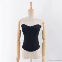 ingrosso nuovi modelli di maglieria-Modelli di esplosione di spedizione Europa e Stati Uniti maglia a maglia da donna maglia tracolla Top Women New Underwear D + -17820