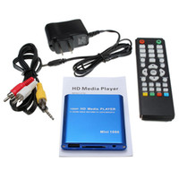 Wholesale av card player for sale - Group buy 1080P Mini HDD Media Player HDMI AV USB HOST Full HD With SD MMC Card Reader Support H MKV AVI P Mpbs