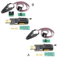 modules usb mp3 achat en gros de-CH341A Module USB Mainboard professionnel Programmeur Flash EEPROM Clip de test BIOS EEPROM 93Cxx / 25CXX / 24Cxx prog en circuit