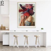 ingrosso ritratto di ragazze di pittura a olio-Pittura a olio rinascimentale Stampe d'arte e manifesti su tela Quadri artistici Ritratto di ragazza per soggiorno Decorazione europea
