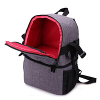 Wholesale camera bag pads for sale - Group buy AFBC Photo Camera DSLR Video Waterprpof Oxford Fabric Soft Padded Shoulders Backpack SLR Bag Case for Canon Nikon Sony