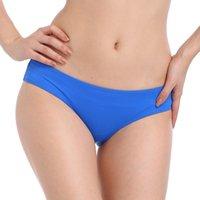 heißes blaues panty großhandel-SWIMMART 2019 Heiße Verkäufe Nylon Qualität Sexy Frauen Strand Panty European American Weiblichen Bikini Bottom Royal Blue Swim Slip