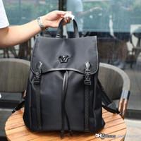 Wholesale slot 1 for sale - Group buy Classic fashion man shoulder bag designer luxury leather production hardware LOGO gorgeous unique man Backpack NB