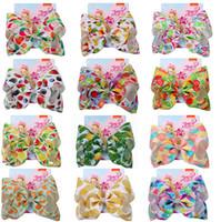 pinzas para el cabello de niña de verano al por mayor-Nuevos clips para el arco Summer New Fruit Series Pinza para el cabello 8