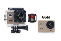 Wholesale remote control waterproof video camera for sale - Group buy Cheapest K Action Camera F60R WIFI G Remote Control Waterproof Video Sport Camera MP MP p FPS Diving Camcorder