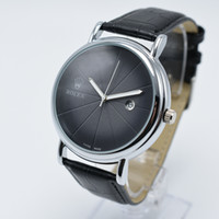 Wholesale brown man casual watch classic resale online - Top quality leather quartz mm aaa luxury mens watches classic brand casual day date men designer watch men gifts wristwatch saat