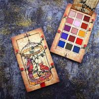 maquiagem de olhos mágicos venda por atacado-Magia Cageling 15 Cores Paleta Da Sombra Shimmer Matte Glitter Paleta Da Sombra de Olho Pigmentado Long-Lasting Kit de Maquiagem À Prova D 'Água