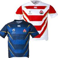 ternos do japão venda por atacado-Qualidade superior 2019 2020 camisa de rugby japonês Jerseys em casa camisa 20 20 Japão World Cup camisa de rugby Ren-G treino terno S-3XL