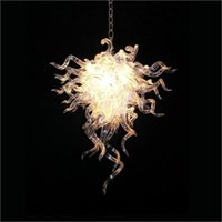 Wholesale beautiful elegant pendants for sale - Group buy Creative Design Crystal Chandelier Elegant Beautiful Blown Glass Ceiling Light Hotel European Style Chihuly Pendant Lighting