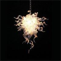 elegante kristall-deckenleuchten groihandel-Kreativer Entwurf Kristallleuchter eleganter schön Blown Glass Ceiling Light Hotel European Style Chihuly Hängeleuchten