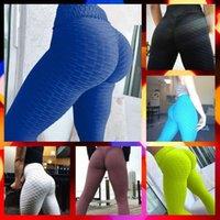 ingrosso delle donne sexy leggings pantaloni di yoga-Donne sexy fitness serraggio Leggings Hight Vita sportivo pantaloni di yoga Palestra Leggings in esecuzione in esecuzione pantaloni Palestra sottile elastico Pantaloni S-XL