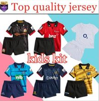 3f57ae01a 2018 2019 New Zealand Club Crusaders kids Super rugby jerseys 18 19  Highlanders Chiefs blues Hurricanes jersey child kit shirt