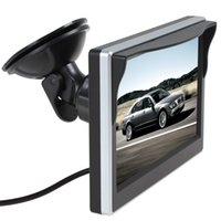 einschließlich definition großhandel-Universal-5-Zoll ultra-dünnen High-Definition-rear-view Monitor Anzeige 720 P 800 * 480 Zwei-Wege-AV-Eingang (einschließlich Ständer)