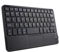 Wholesale universal inch android tablet keyboard for sale - Group buy 8 Inch Bluetooth Touch Keyboard Inch Android Microsoft Universal Tablet Phone Mobile Bluetooth Keyboard