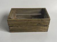 Wholesale wooden craft boxes resale online - 20 x12xH8 CM Wooden Succulent Pots Rectangle Vintage wood Case Box Storage Boxes Craft indoor decor
