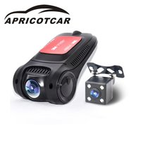 câmera escondem espelho venda por atacado-2019 Mini Gravação de Vídeo Wi-fi Gravadores de Fita Negra Escondida Full HD de Alta-definição de Visão Noturna Tela Carro DVR Traço Câmera