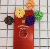 ingrosso metallo pigro di staffa-Fibbia ad anello circolare del telefono cellulare del sostegno dell'anello del sostegno dell'anello pigro rotatorio di 360 gradi Modo del fermaglio del metallo