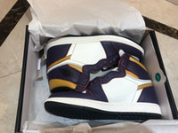 Air 1 High OG x Dunk SB Court Purple CD6578-507 1s Men Basketball Shoes High Quality outdoor Trainers Sneakers With Original Box