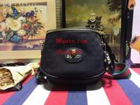 мех рюкзак черный оптовых-HOT 2019 новый модный бренд fannypack Женские ремни сумки Сумки, рюкзаки, сумки через плечо, талия пакет черный Поворотный мех Известная сумка на груди DI-1