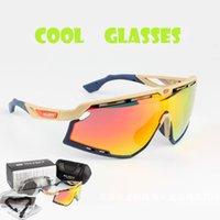 ingrosso occhiali da sole bici uv-Occhiali da sole polarizzati da ciclismo Occhiali da ciclismo sportivi da uomo Occhiali da sole da donna Occhiali da sole Occhiali da sole 3 Lenti da ciclismo anti-UV