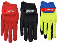 Wholesale bike cycle motors resale online - sup cycling gloves winter gloves motor sking Bike Bicycle glove With Multi Color Elastic Fabric Long Full Finger Comfortable glove