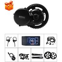 e fahrrad-kits 36v großhandel-Bafang Mid Drive Motor Kit 36 V 500 Watt BBS02B E-Bike DIY Radfahren Conversion Motor Kits mit Display 44 T 46 T 48 T 52 T