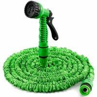 kunststoff-spritzdüsen großhandel-Garten Wasserpistole Auto Waschen Rasen Kunststoff Sprinkle Werkzeuge Wassersprühgeräte Für Bewässerung Rasenschlauch Spray Wasser Düsen Pistole Auto Reinigungswerkzeuge