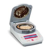 medidor de humedad grano al por mayor-Ohaus Moisture Analyzer MB23 Laboratorio Calentador infrarrojo Medidor de humedad del grano medidor 110g capacidad RS232