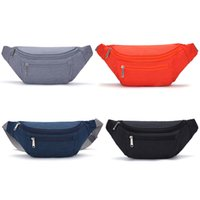 Wholesale pouch belt strap for sale - Group buy Sport Waist Pack Women Running Belt Bag Waterproof Nylon Fanny Packs Adjustable Strap Travel Chest Phone Pouch