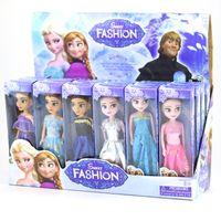 muñecas princesa china al por mayor-16cm mezcla de Barbie que juguetes de anime el muñeco de juguete de hielo el romance Aisha Anna hermana la princesa de los niños