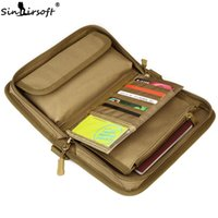 Wholesale passport travel bag wallet pouch for sale - Group buy SINAIRSOFT Tactical Travel Wallet Bags Passport Inches Phone Dump Camouflage Pouch Nylon Purse Hikking Camping Accessories Bag