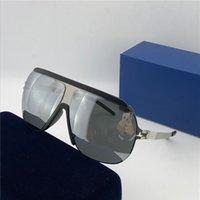 lentille de lunettes de soleil sans monture achat en gros de-Monture ultra-légère de lunettes de soleil mykita en gros sans vis MKT WOLFI cadre pilote top hommes marque designer lunettes de soleil revêtement lentille miroir