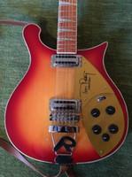 12 cordes guitares en porcelaine achat en gros de-Nouvelle guitare 620 12 cordes 12 cordes cerise rouge Tom Petty Signature 1991 Single Cutaway China Guitar