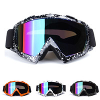 Wholesale green motocross helmets resale online - Latest hot high quality Motocross Goggles Glasses MX Off Road Masque Helmets Goggles Ski Sport Gafas for Motorcycle Dirt