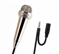 transmissão de microfones venda por atacado-Telefone celular microfone microfone condensador mic cantar ao vivo transmissão