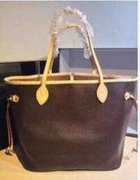 avrupa hakiki deri çanta toptan satış-Yüksek kaliteli çanta hakiki deri Avrupa Luxurys Marka kadın Çanta Ünlü tasarımcılar çanta neverfulls tasarımcılar luxurys çanta cüzdanlar