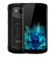 phablet otg großhandel-Ursprüngliches Blackview BV5800 4G Phablet Android 8.1 5,5 Zoll Viererkabelkern 2GB + 16GB 13.0MP + 0.3MP Rückfahrkamera IP68 wasserdichtes 5580mAh 4G Mobiltelefon