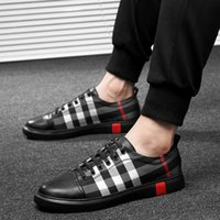 Wholesale men simple rubber shoes resale online - Sneakers New Wild Trend Casual Shoes Men High Quality Soft Comfortable Breathable Flat Simple Lightweight Shoes Non slip Firm