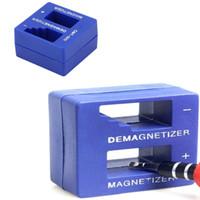 Wholesale screwdriver magnetizer resale online - HOT Magnetizer Demagnetizer Screwdriver Magnetic Magnetizer demagnetizer magnetic pick up tool screwdriver tips screw bits