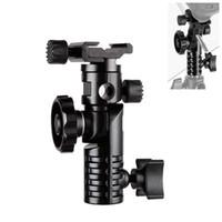 ingrosso kit ombrello foto-Kit per studio fotografico Photo Studio HPUSN Adattatore per slitta flash universale per montaggio in metallo 1/4 \