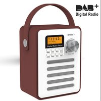 Wholesale DAB DAB Digital and FM Radio Portable speaker and Rechargeable Wireless Personal Radio with Stereo Speaker Sound System with bluetooth
