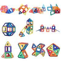 brinquedos educativos blocos de construção magnéticos venda por atacado-Designer magnética 40pcs / SET blocos de construção magnético micro para construir 3D presente ímã modelo brinquedos bloco das crianças brinquedos educativos para crianças