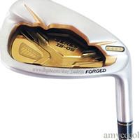 ferros de aço eixo venda por atacado-New 4stars Golf Clubs HONMA S-05 Ferros de golfe 4-1011AS Clubes ferros Set Aço ou Grafite do eixo R ou S eixo de Golfe Frete grátis