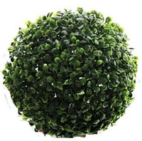 Wholesale boxwood balls for sale - Group buy Cammitever Bonsai Topiary cm Diameter Artificial Plastic Boxwood Ball Grass Ball Shop Mall Supplies Indoor Outdoor Decoration J190710