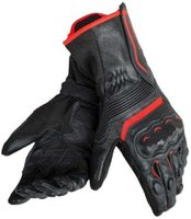 Wholesale red racing gloves resale online - ASSEN Dain Gloves Street Motorcycle Motocross Racing Protective Leather Gloves Black Red